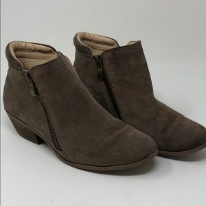 Shoes - Zipper Ankle Booties